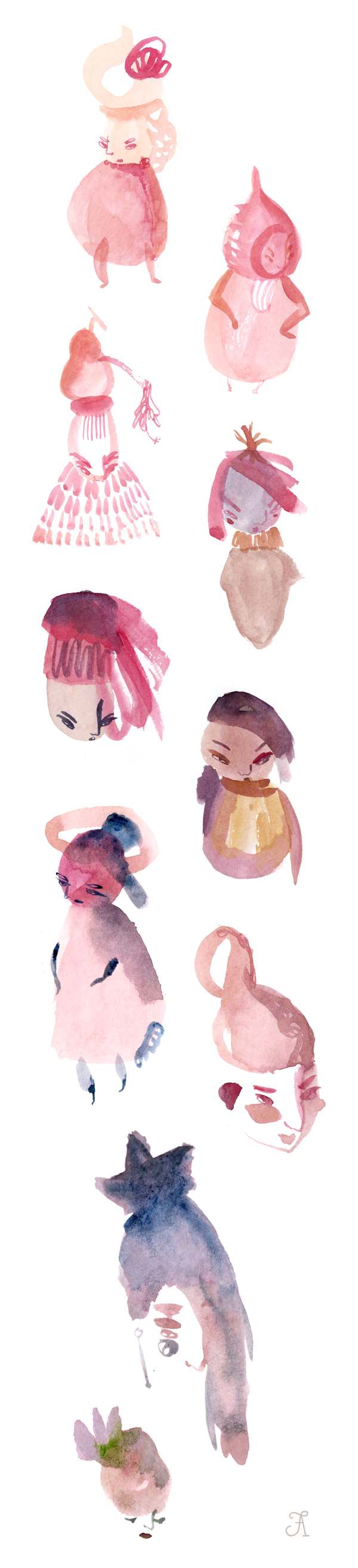 NBNH-watercolorsketches-5
